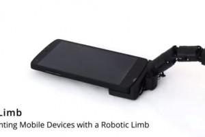 Mobilimb专为手机而生,很有魔性的一根机械手指