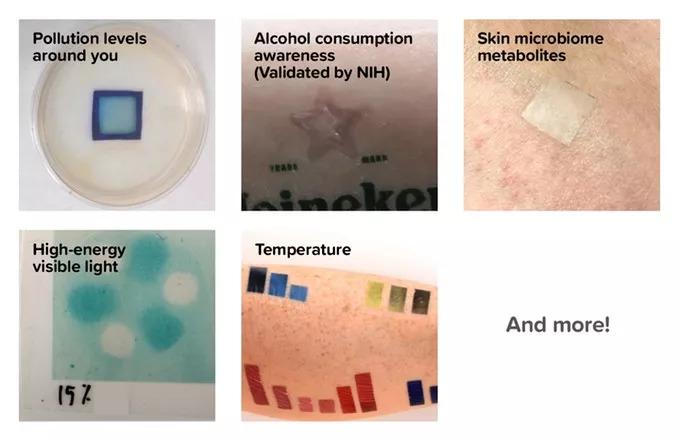 美公司研发出高科技纹身,可检测PM2.5,紫外线等