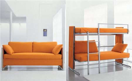实用的沙发双人床